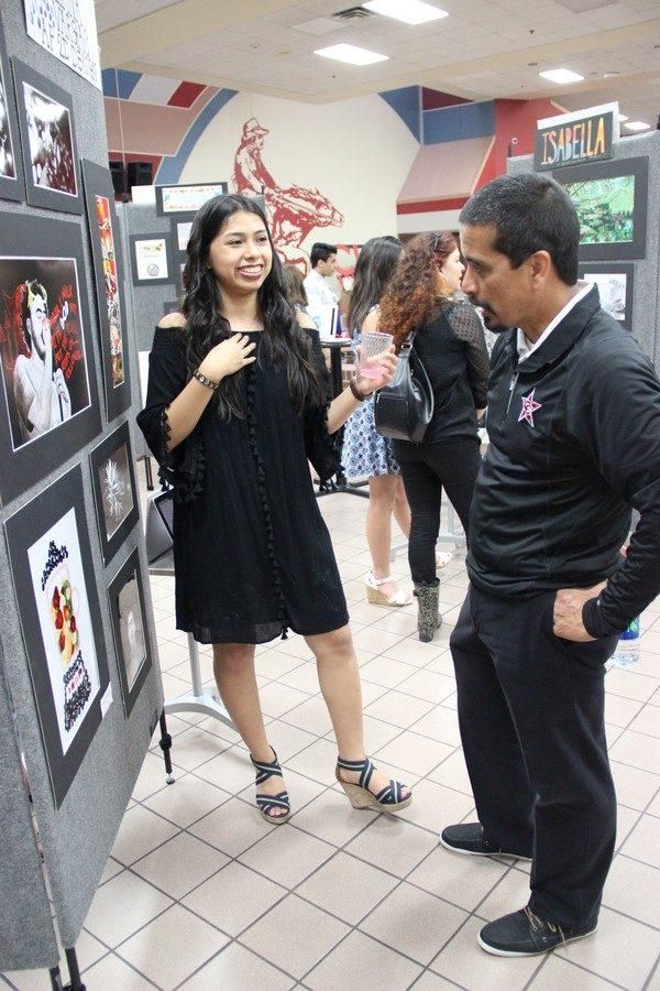AP and IB art students showcase their