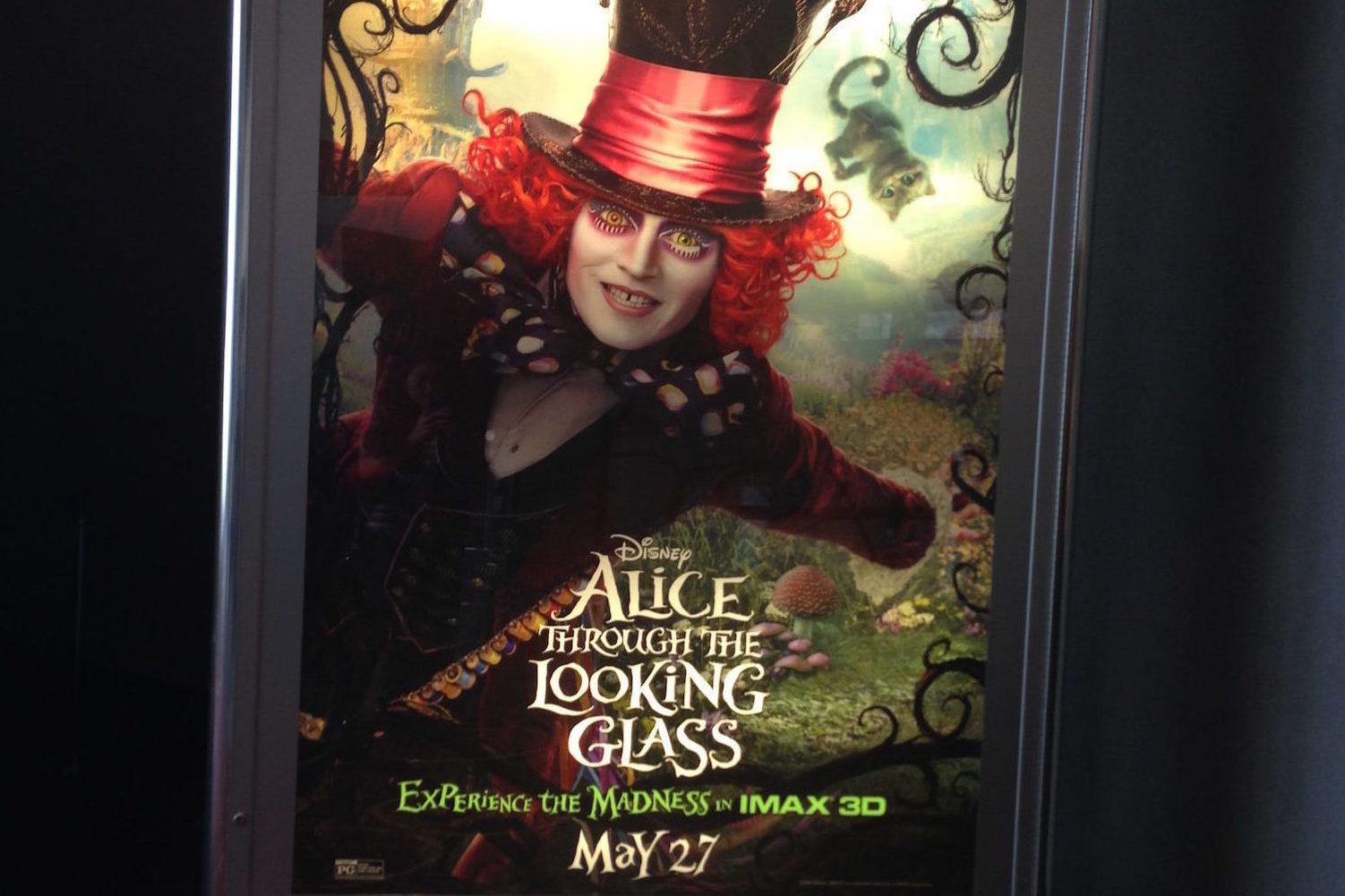 Alice Through the Looking Glass brings adventure, beautiful imagery to the screen