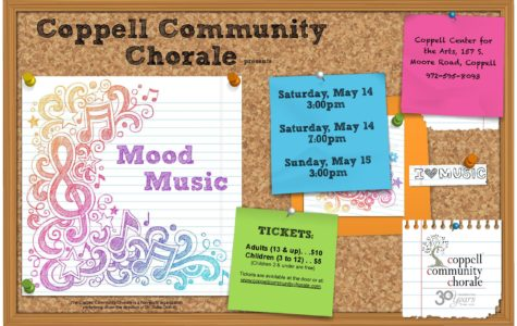 Coppell Community Chorale to host final concert Mood Music