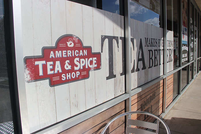 "American Tea & Spice Shop previously Tea2Go, was renovated for the CNBC reality show ""The Profit,"" which is hosted by Marcus Lemonis, on July 31 and opened again on August 31. The renovation added new furniture to make the building feel more comfortable and they also added more tea flavors to provide a bigger variety of options to choose from."