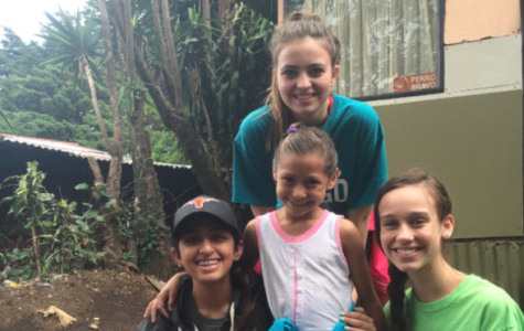 Spanish students inspired by sights and culture of Costa Rica