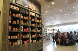 """American Tea & Spice Shop previously Tea2Go, was renovated for the CNBC reality show """"The Profit,"""" which is hosted by Marcus Lemonis, on July 31 and opened again on August 31. The renovation added new furniture to make the building feel more comfortable and they also added more tea flavors to provide a bigger variety of options to choose from."""