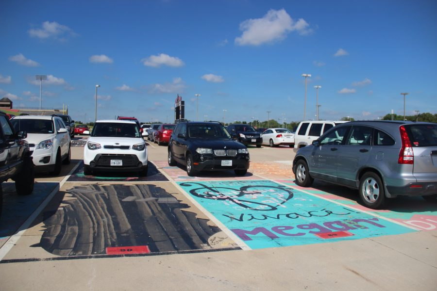 Starting+in+the+2016-2017+school+year%2C+Coppell+High+School+seniors+are+now+required+to+pay+%2440+if+they+want+to+paint+their+senior+parking+spot.+Coppell+High+School+seniors+are+only+allowed+to+paint+a+3-foot+by+3-foot+section+of+their+space.