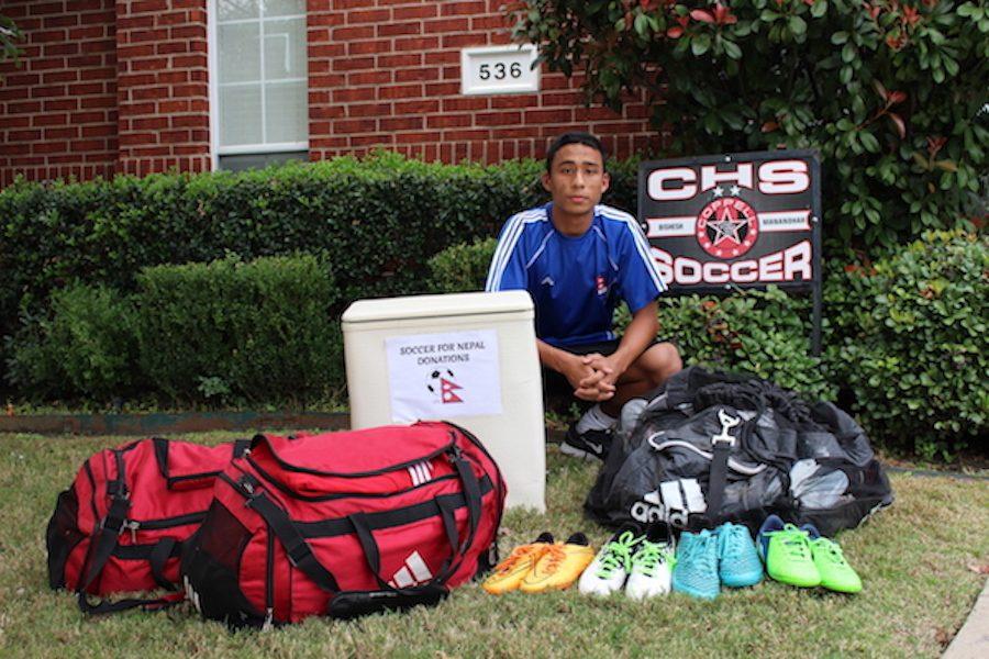Passionate, dedicated senior Manandhar establishes Soccer for Nepal organization