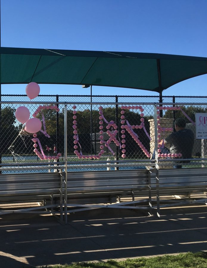 On Saturday Wagon Wheel tennis center held a Rally for the Cure event to raise awareness about breast cancer and funds for the Susan G Komen foundation.