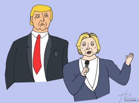 Hidden dynamics of presidential debate