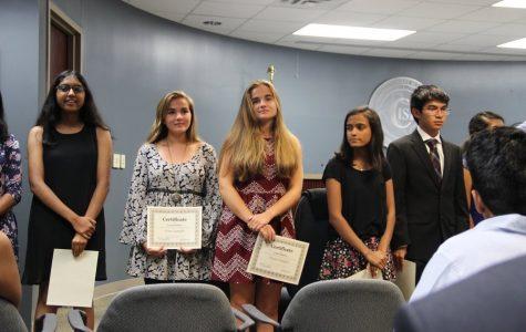 Successful students, valued volunteer