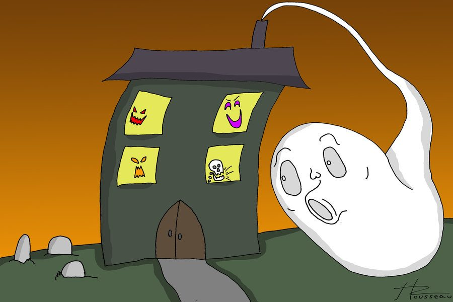 Spooky house or just spooked out?