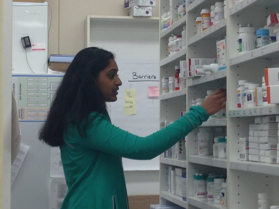 Pharmacy internship proves to be good medicine for Varghese