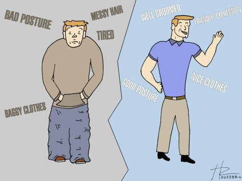 The power of slouching