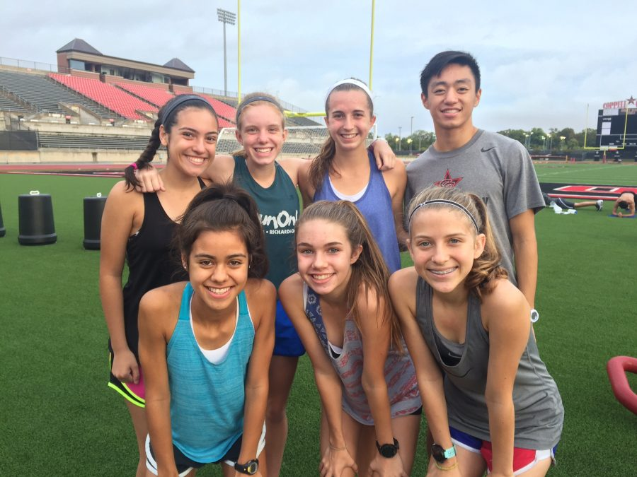 Coppell cross country runners prepares to compete for the 6A statement in Round Rock Nov. 12.