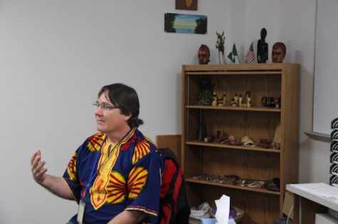 Rasch brings multicultural perspective to classroom with experiences in Africa