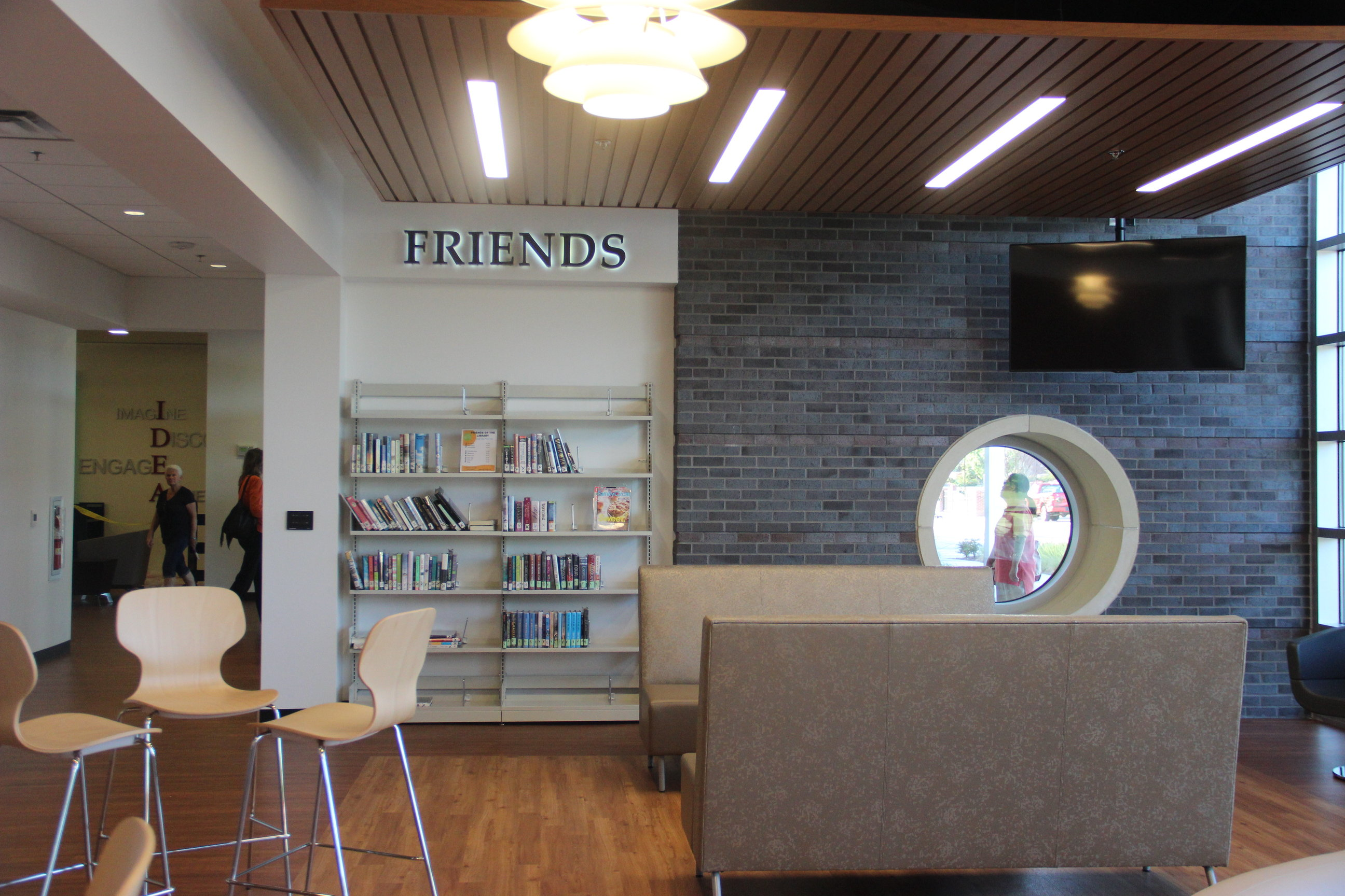 One+of+the+many+new+spaces+in+the+William+T.+Cozby+public+library+is+designated+for+teens+to+have+a+place+to+hang+out+and+have+fun.+The+newly+renovated+Cozby+Library+is+now+open+to+the+public%2C+but+will+have+its+official+opening+ceremony+on+Nov.+20.%0A