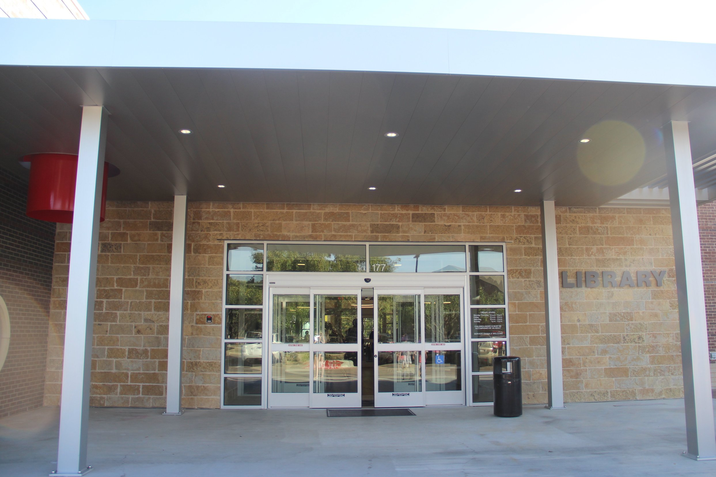 The William T. Cozby public library is located at 177 N Heartz Rd and has been recently renovated. After being closed for many months, the library is now open to the public and will have its opening ceremony on Nov. 20.