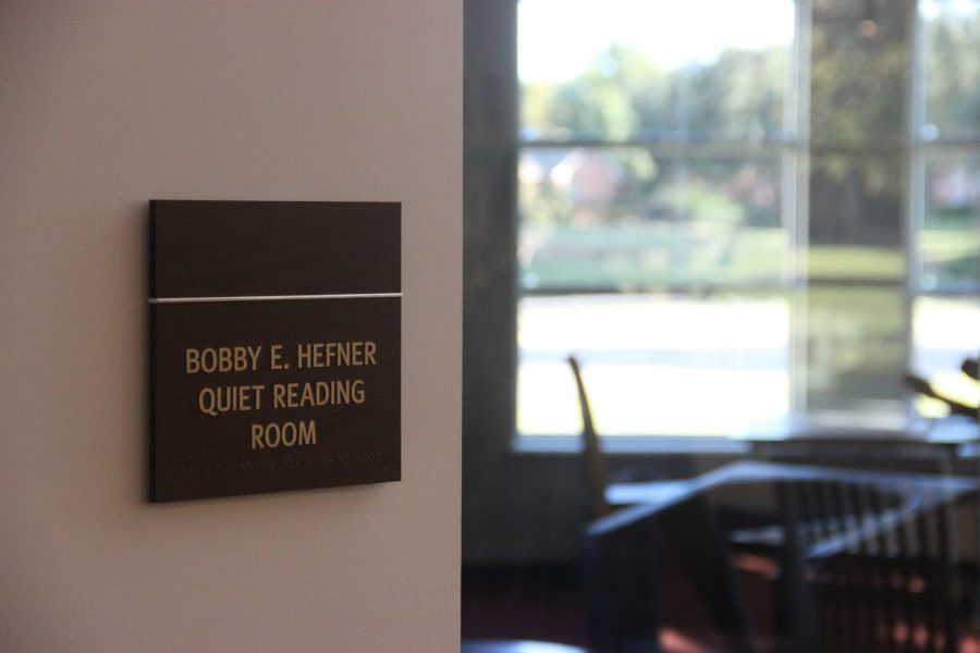 Many different quiet reading rooms, conference rooms, and hangout spaces were added to the library after recent renovations. The newly renovated Cozby Library is now open to the public, but will have its official opening ceremony on Nov. 20.