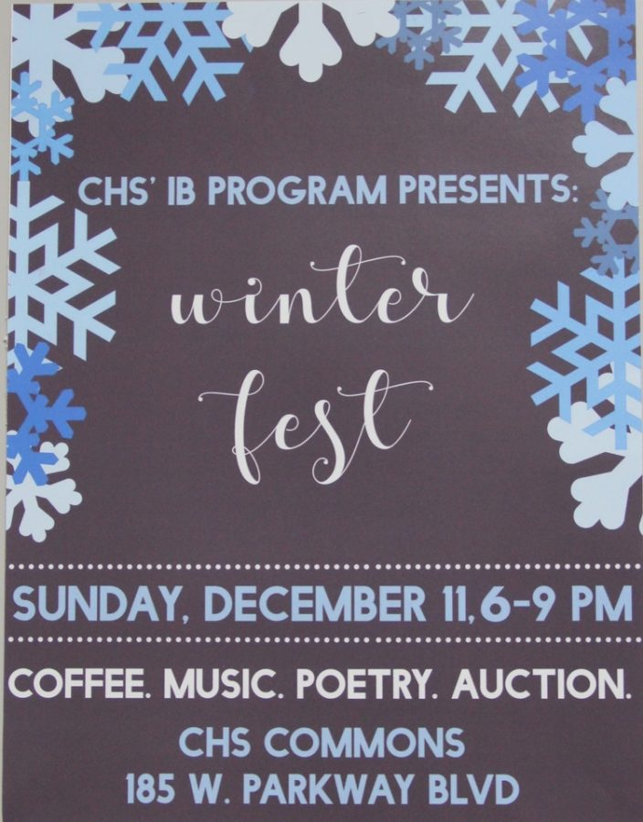 Coppell High School IB program presents a Winter Fest on Sunday from 6-9 p.m at the CHS commons. There a silent auction, slam poetry readings, live music, games, coffee and desserts. Entry is free, but silent auction and food proceeds will go to KIVA.