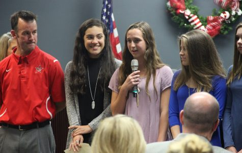 November board meeting offers student recognitions, school acclamations