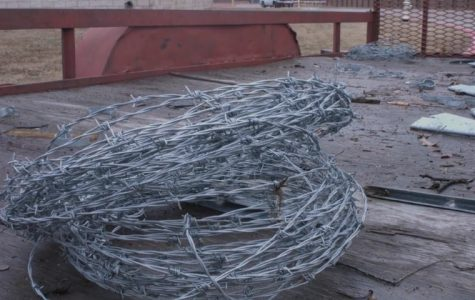 CISD removes barbed wire fence at Middle School North