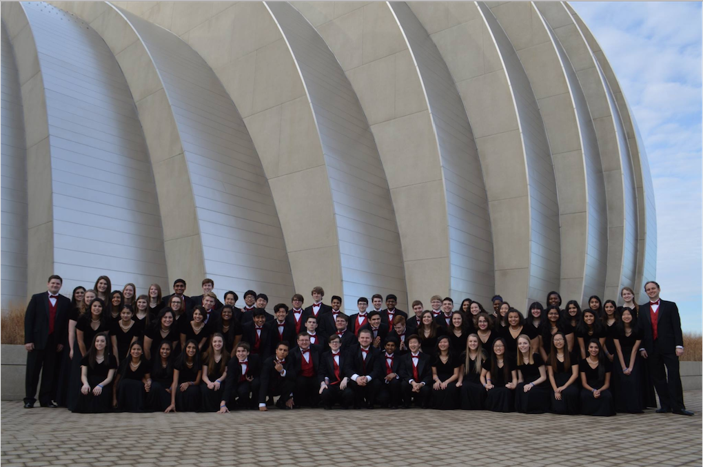 Excelling in auditions, performances and hours of rehearsal, Coppell High School A Cappella choir members hold great expectations for their department this year. On Saturday, the group will hold a concert at UNT in Denton from 3-4:30 p.m. Photo courtesy of CHS Choir Director Joshua Brown.