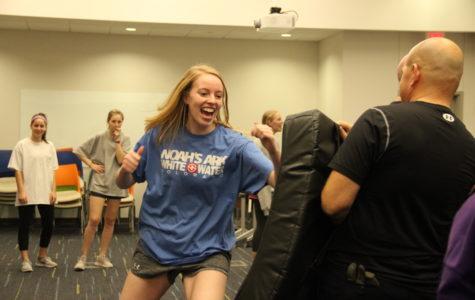Coppell Police Department holds self defense for CHS senior girls