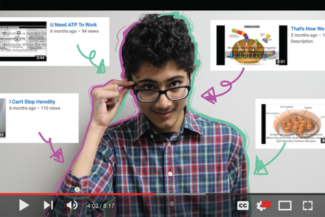 Mishra showcases bright mind, personality through educational Internet music