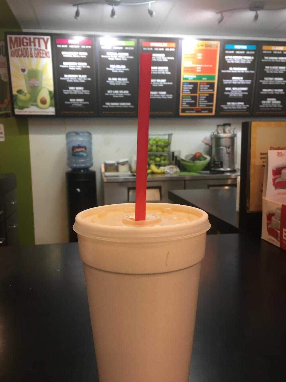 In addition to freshly made smoothies and juices, Smoothie Factory offers fitness supplements such as weight loss supplements, protein powder and energy bars. Congratulations to Smoothie Factory for being voted the best after school snack by The Sidekick in Coppell.