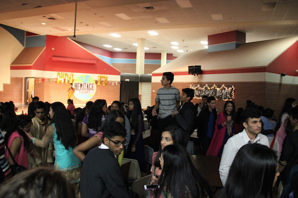Heritage Night is an annual event that is put on by the Junior World Affairs Club of Coppell High School. This year's event took place March 3 and attracted more than 300 people.