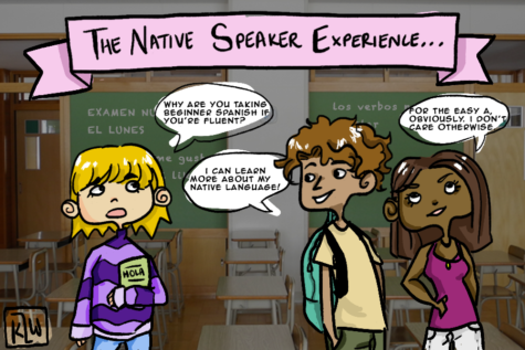 Benefits, negative aspects of native speakers in Spanish classes