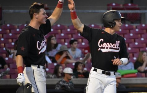 Cowboys ride 12-run first inning to sweep past Naaman Forest in bi-district playoffs