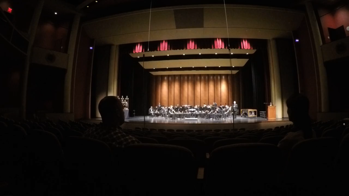 The Coppell High School Wind Symphony performs at The Fine Arts Center at Texas Southmost College May 19. The CHS Band traveled to South Padre Island to compete in a concert performance.