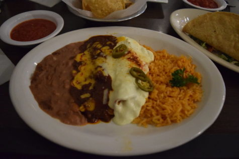 "Anamia's Tex-Mex received the ""Best Tex-Mex"" in Coppell from The Sidekick poll for the second year in a row. One of their specialty dishes, the Carlito, includes a beef taco, cheese enchilada, chicken enchilada and its famous rice and beans. Photo by Kelly Monaghan."