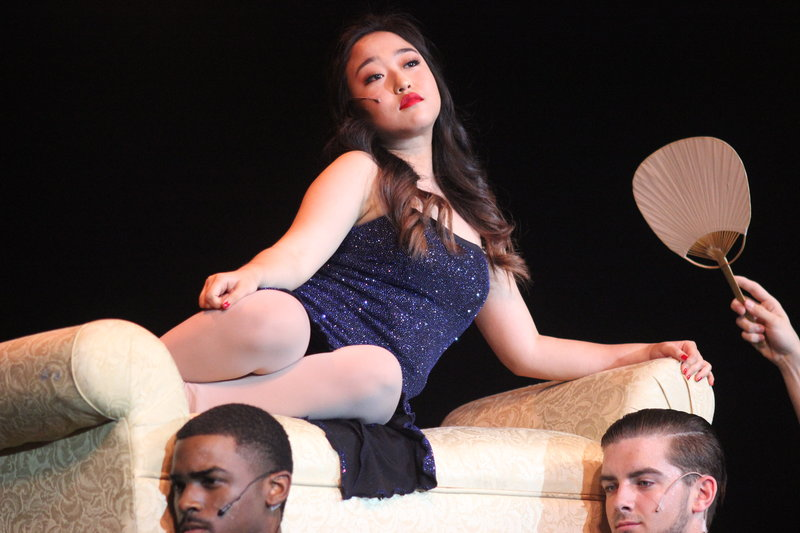 Coppell+High+School+senior+Tara+Park+sings+%22My+Strongest+Suit%22+from+the+musical+%22Adia%22+on+Friday+night+on+the+CHS+Auditorium.+The+CHS+Theatre+Department+performed+their+latest+work+%22Fame%2C%22+which+is+a+variety+of+songs+from+different+musicals+compiled+into+one+night.+Photo+by+Hannah+Tucker.
