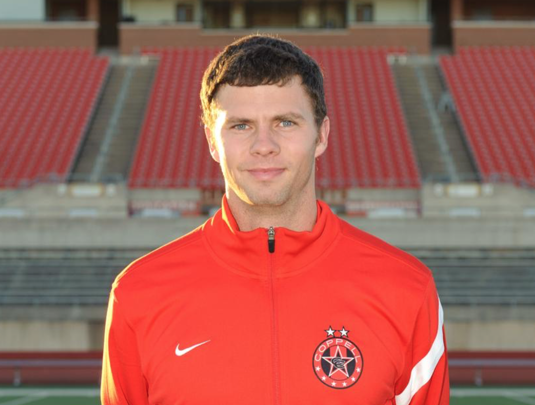 On June 12,  Eaton High School boys soccer coach James Balcom was named the new head boys soccer coach of Coppell High School. Balcom previously served as the junior varsity coach and assistant varsity coach for six year before leaving to Eaton High School. Photo courtesy Coppell Soccer.