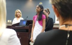 Board meeting features outstanding student, bus grievances, holiday petition, budget
