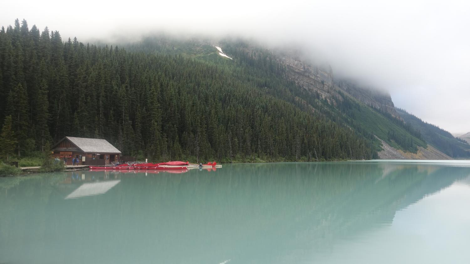 Lake Louise is located in Alberta, Canada and is fed by the glaciers that overlook the lake. While traveling also provides a vacation from the routines of daily life, it also serves as a means to become more globally aware and knowledgeable.
