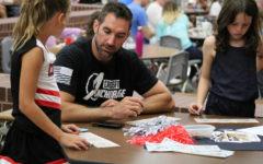 Coppell High School cheerleaders host annual bingo fundraiser on Friday night
