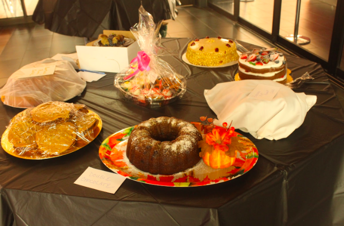 CHS Drama Club held their annual Revue and Auction Night on Sept.18. One of their specialities during the night is auctioning homemade desserts to the audience in order to raise money for the club.