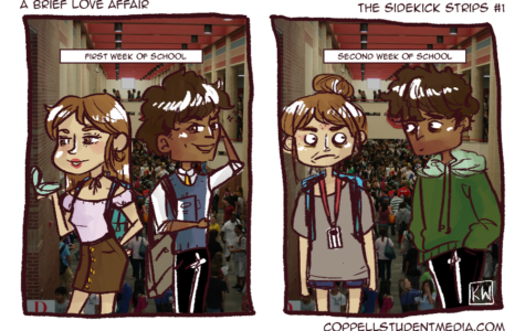 The Sidekick Strip #1: A Brief Love Affair