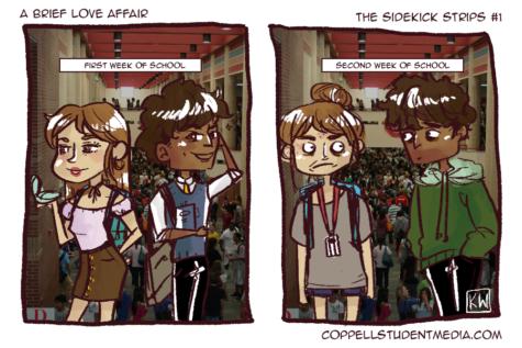 The Sidekick Strip #1: A Brief Love Affair