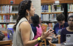 Passion, dedication on display with new face, Arvizu, in CHS library