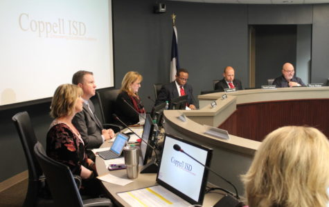 Board meeting discusses future of Coppell schools