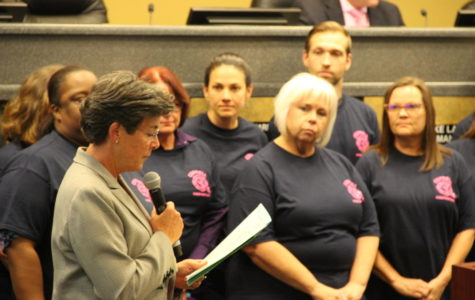 "City Council approves October as ""National Breast Cancer Awareness Month"""