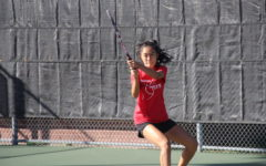 Varsity tennis wins first playoff match