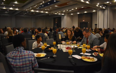 Former ATF, SWAT agent warns against using drugs at Red Ribbon Week Kickoff Breakfast