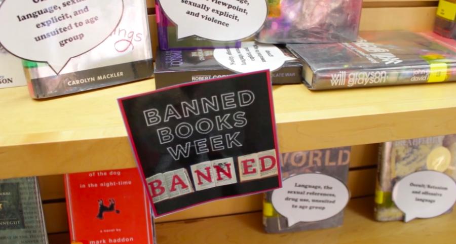 CHS+celebrates+35th+annual+Banned+Books+Week