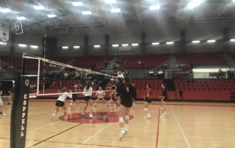 Cowgirls volleyball defeat Lake Highlands at home