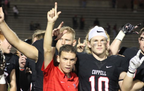 Cowboys after fifth district win at Berkner