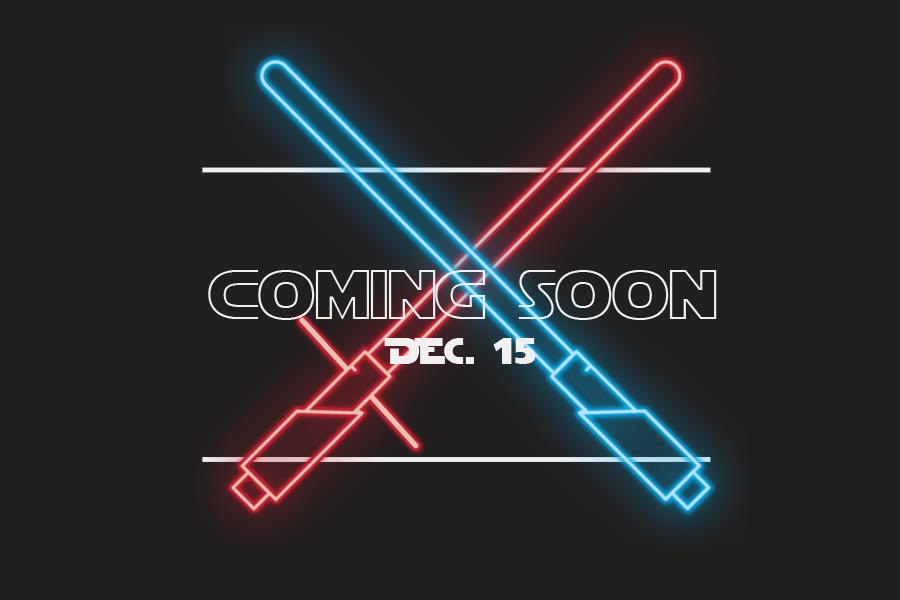 The Last Jedi releases on Dec. 15