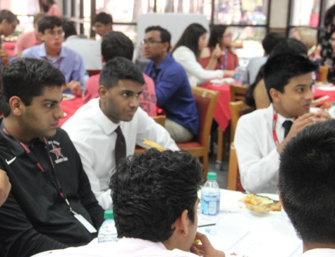 On the Spot: Annual luncheon recognizes qualifying National Merit students