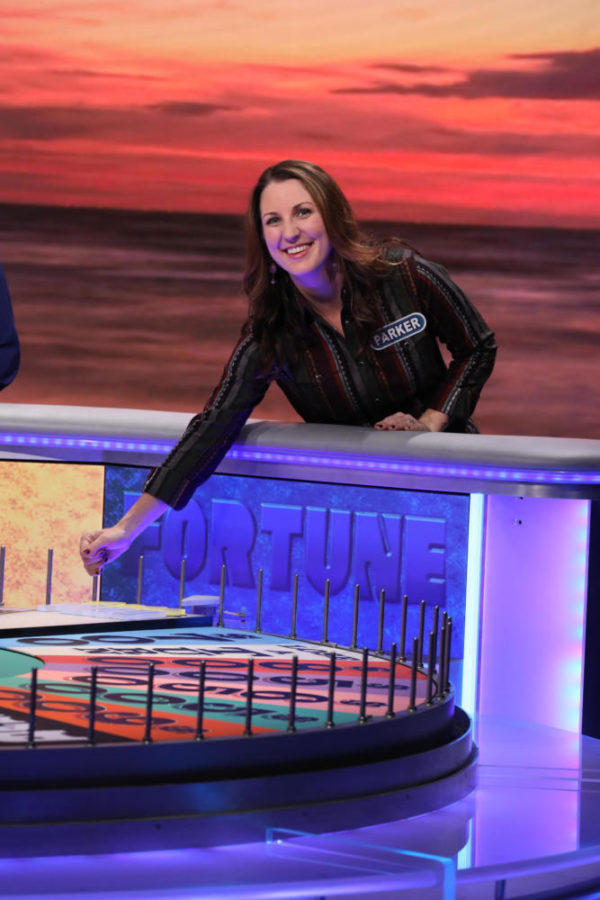 "Coppell High School alumna Parker Stansel appeared on an episode of ""Wheel of Fortune"" which aired on Friday night. To be able to compete, Mrs. Stansel went through two rounds of auditions before being selected for the show. Photo courtesy Carol Kaelson"